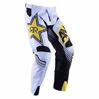 Answer Rockstar Energy Pant - Black/white - Motocross-