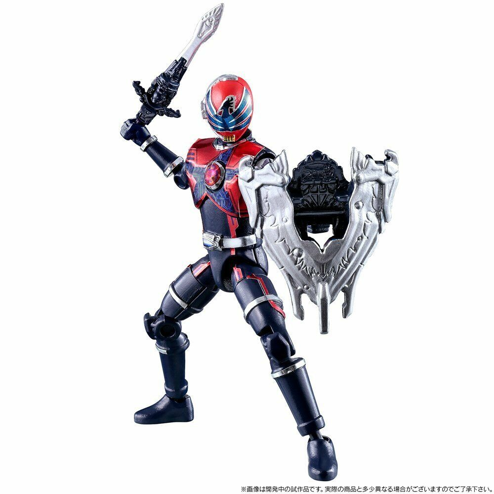 Japan Rare Uchu Sentai Kyuranger Shokugan Shokugan Shokugan Yu-Do 3 types Action Figures Complete 0c645a