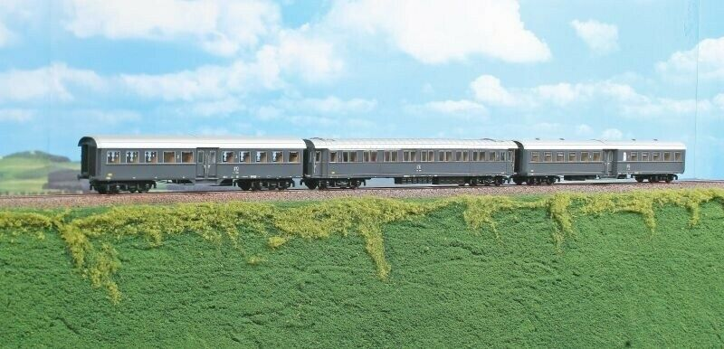 Acme ac55161 lokalbahnzug con 3 vagones de la fs, Época IV, pista h0