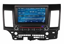 "8"" Touch Screen Car Radio DVD Player GPS Navigation For Mitsubishi Lancer +Maps"