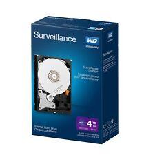 """WD Internal Hard Disk Drive 4TB Purple Surveillance SATA III 6.0Gb/s 3.5"""" 64MB"""