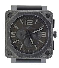 Bell & Ross Aviation Phantom Chronograph LE Carbon Fiber Watch BR0194-CA-FIB