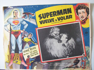 ALL-SCY-FICTION-ONLY-AVAILABLE-24h-SUPERMAN-FLIES-AGAIN-George-Reeves-1954-M