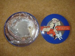 Tintin-32-034-Red-Snowy-Belt-by-Citime-in-a-blue-box-brand-new-rare-LK02