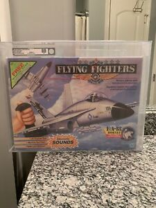AFA-80-1989-Hasbro-Flying-Fighter-F-18-Sealed-Instant-Win-Game-Variation-Rare