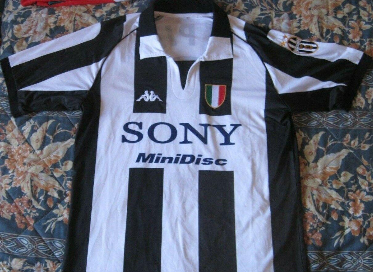 Maglia Shirt Camiseta Trikot JUVENTUS Season 1997 Kappa Kappa Kappa Dimensione M 10 DEL PIERO Sony dae
