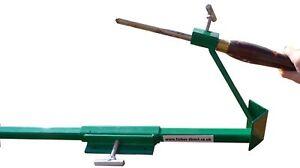 Chisel  sharpener sharpening tool for wood turning, gouge fingernail 2 jigs