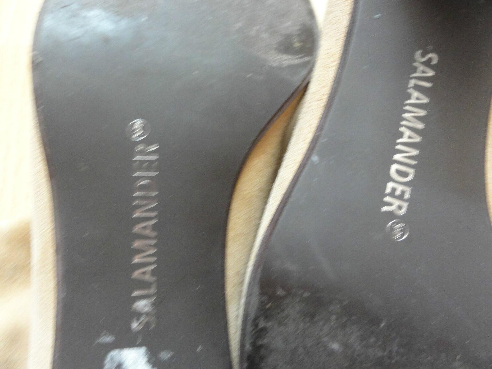 Tolle Wildleder Beige Stiefeletten von SALAMANDER, Gr. 39 in Beige Wildleder - wie NEU 303f87