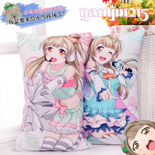 35*55CM Anime Dakimakura Love Live Minami Kotori Bedding Cushion Pillowcase 2WT