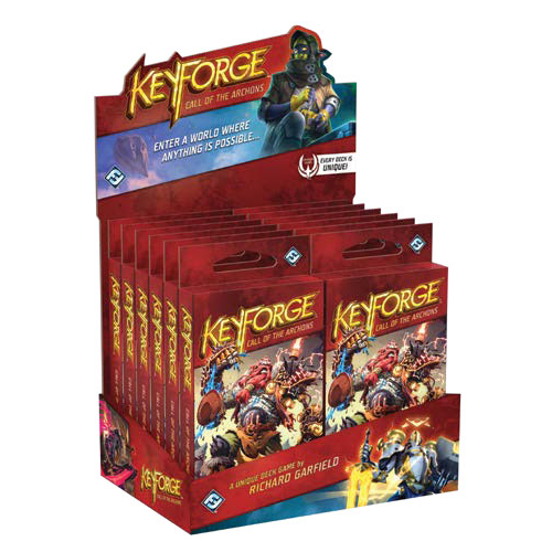 Keyforge Call of the Archons 12 complet carte 37 ponts