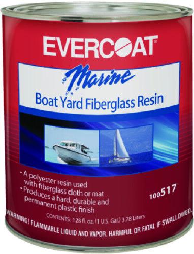 Evercoat Stiefel Marine Stiefel Hof Glasfaser Harz 1 Gallon mit Härter Enthalten
