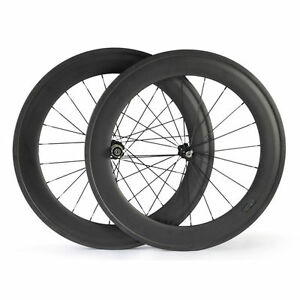 700C-88mm-Clincher-Carbon-Fiber-Road-Bike-Wheels-Carbon-Road-Cycling-Wheelset