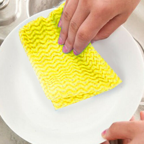 1 Rouleau nouveau jetables essuyer chiffon cuisine non-tissé de nettoyage Torchon mode
