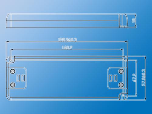 LED SchaltnetzteilSNP30-12VF12VDC2,5A30W