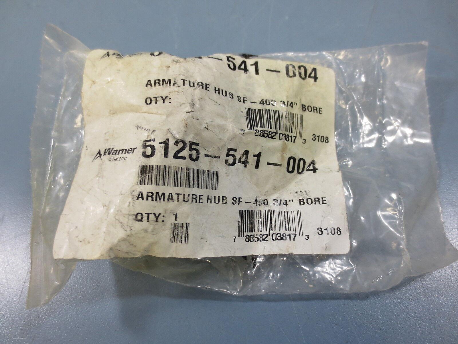 1 New Warner Electric 5125-541-004 Armature Hub SF - 400 3 4  Inch Bore