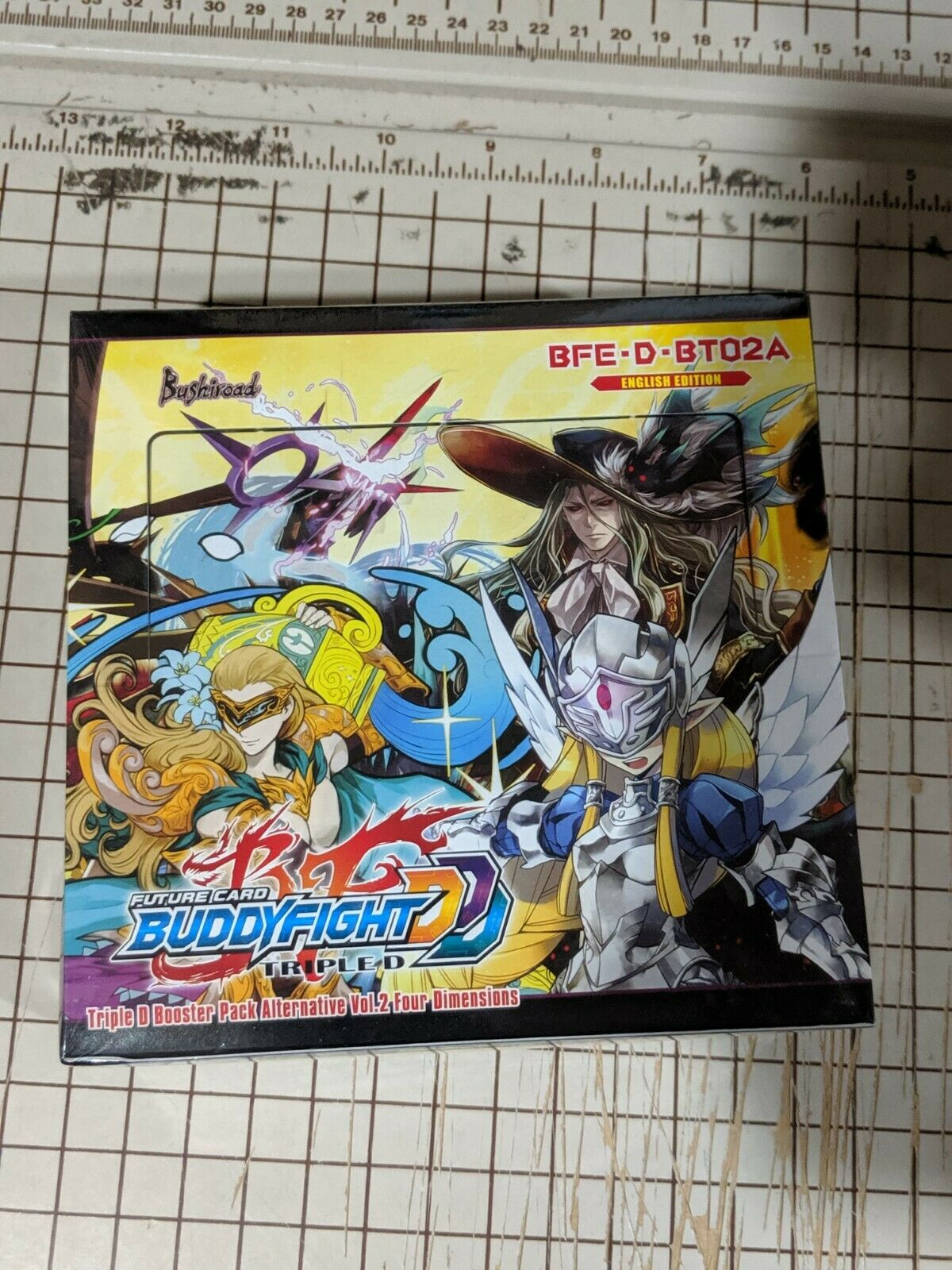 Future Card Buddyfight Triple D Alternative Four Dimensions