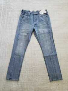 8c29df60 NEW WOMEN'S 29 30 501 SKINNY ALTERED JEANS IN ROUGH EDGE DENIM   eBay