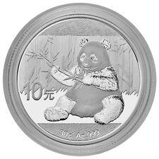 2017 China 10 Yuan 30g Silver Panda GEM BU in Mint Cap SKU43865