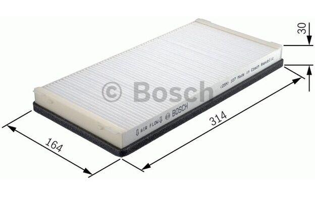 BOSCH Filtro, aire habitáculo BMW Serie 7 ALPINA B7 1 987 432 103