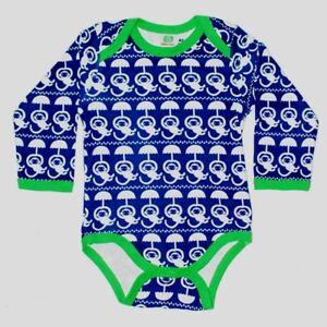* Nouveau * Sture & Lisa Scandi-bleu Marine Singe Body-taille 80/12 Mois.-afficher Le Titre D'origine Produits De Qualité Selon La Qualité