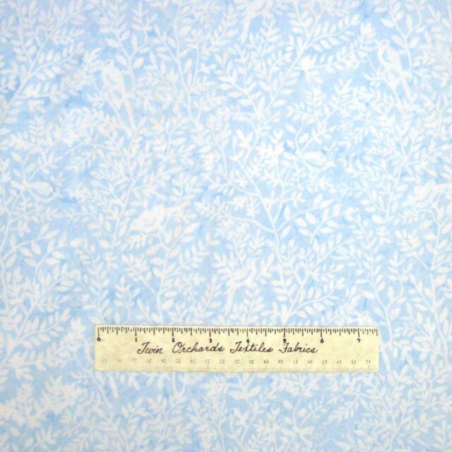 Batik Christmas Fabric Tonga Jack Frost Cardinal Blue Timeless Treasures YARD