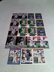Emil-Brown-Lot-of-38-cards-13-DIFFERENT