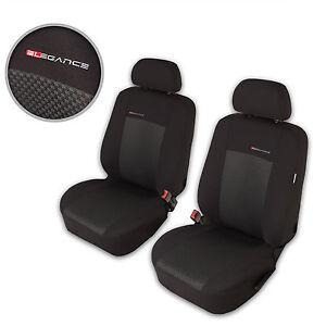 Volvo XC60 Grau Universal Sitzbezüge Sitzbezug Autositz Schonbezüge Elegance P3