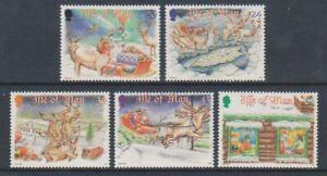 Ile-de-Man-1998-Noel-Ensemble-MNH-Sg-819-23