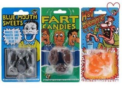Streich Süßigkeiten Bonbons Streich Neuheit Trick Gag Joker Klassisch Essbar