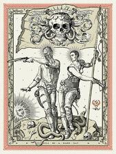 Ravi Zupa Mad Max Fury Road Movie Poster OBEYGIANT Art Print Shepard Fairey OBEY