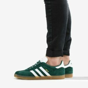 Details about NIB ADIDAS Mens GAZELLE DA8872 GREEN GUM CASUAL LIFESTYLE SHOES NEW $90