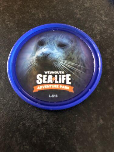 Sealife Weymouth Seal Feed Merlin Pop Badge