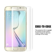 New Samsung Galaxy s7 Edge Curved TPU Full Screen Protector Ultra Clear Strong