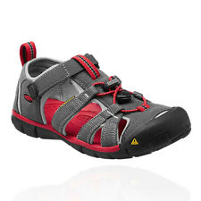 Keen Seacamp II CNX Junior Red Grey Walking Sandals Summer Sports Shoes