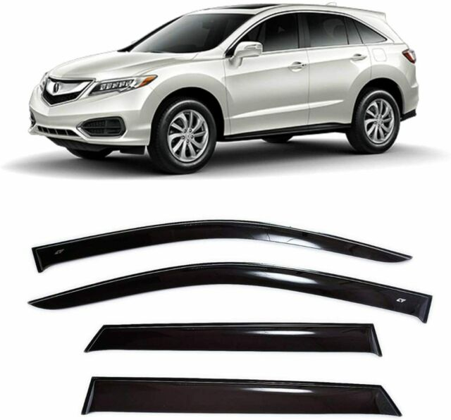 For Acura RDX 2013-2018 Window Visors Side Sun Rain Guard