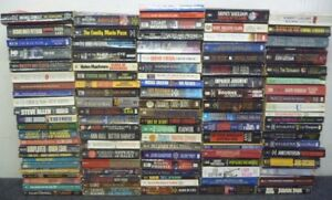 Lot-of-10-Mystery-Thriller-Suspense-Fiction-Paperbacks-Books-RANDOM-MIX-UNSORTED