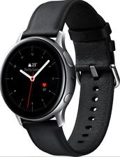 Artikelbild SAMSUNG Galaxy Watch Active2 Stainless Steel Smartwatch Echtleder Silver