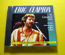 """CD """"Eric Clapton - 16 GREATEST HITS"""" Best of/16 canzoni (Snake Drive)"""