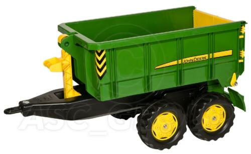 Rolly Toys John Deere Large Container Trailer Tipping Removable For Tractors