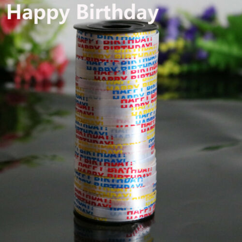 Decoration Party Supplies DIY Gifts Wrapping Balloon Ribbon Roll Silk Curling