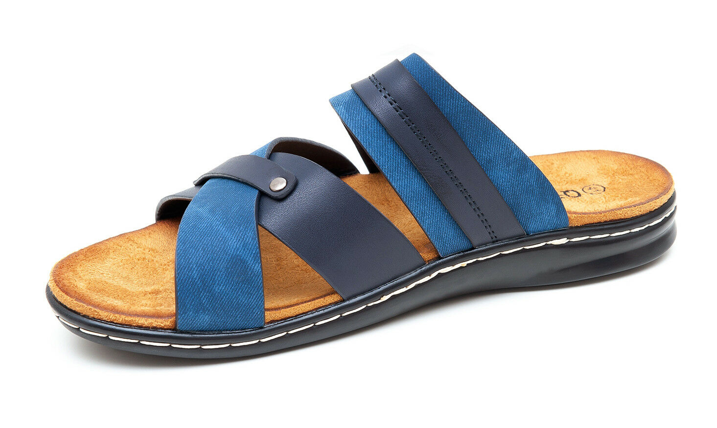 SANDALS MAN DIAMOND SUMMER BLUE SHOES MAN'S SHOES CASUAL SLIPPERS WALKING