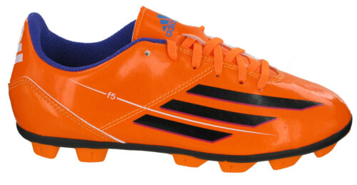 Adidas F5 TRX HG J Moulded Studs Boys Orange Hard Ground Football Soccer Boots
