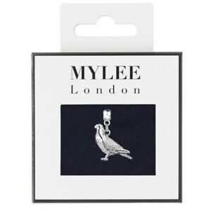 Silver Plated Racing Homing Pigeon Jewellery Charm