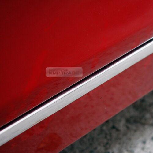 Chrome Flexible Edge Door Scuff /& Window Trim Sill Molding For Car Exterior