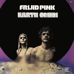 Frijid-Pink-Earth-Omen-New-Vinyl-LP-UK-Import