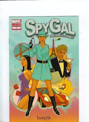 NYCC 2012 New York Comic Con 2012 Spy Gal Custom Edition Comic Book #1