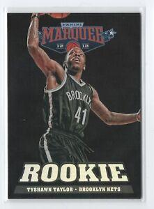 2012-13-Marquee-Black-Holoboard-Group-II-Rookies-299-Tyshawn-Taylor