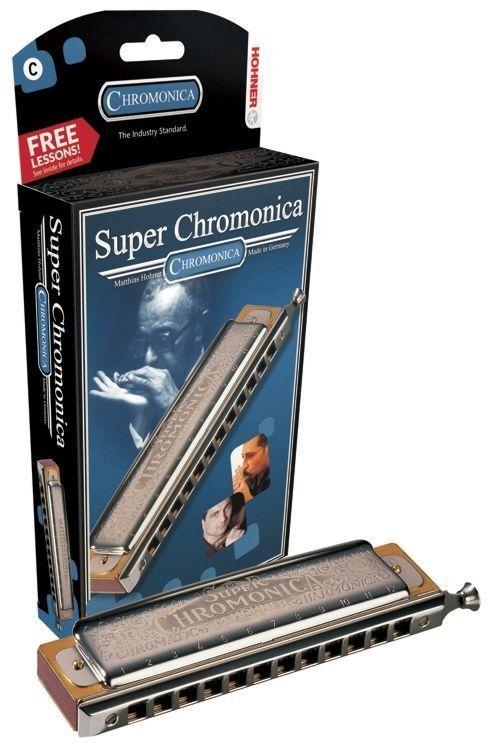Hohner 270BX-C Super Chromonica Harmonica Key of C C  Db NEW in Box 260