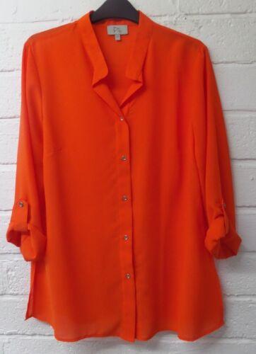 Women Ladies New Pixi Plain Collar Button Shirt//Top//Blouse UK 10-16 COLOURS