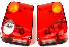 Anhänger Heckleuchten Set Rücklicht Reflektor KFZ Universal + Leuchtmittel PKW